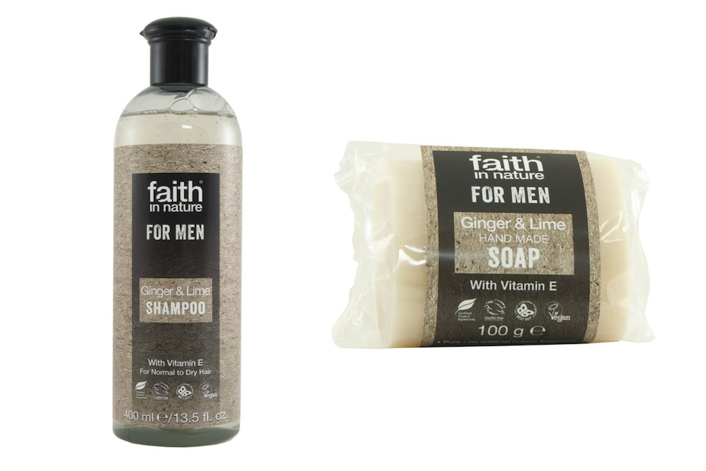 Faith in Nature - soap and shampoo - theearlyhour.com