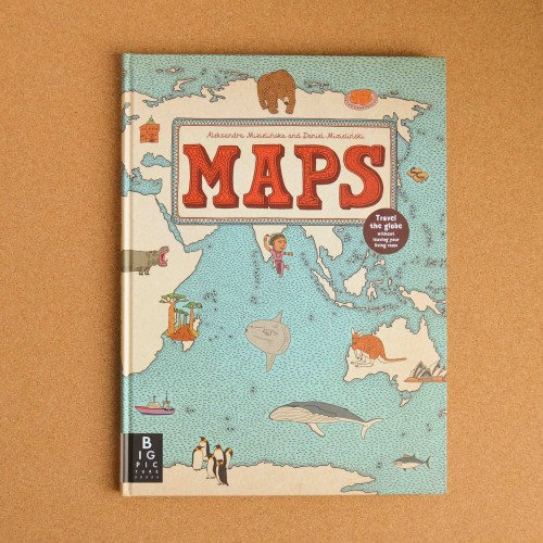 Maps - children's books - theearlyhour.com