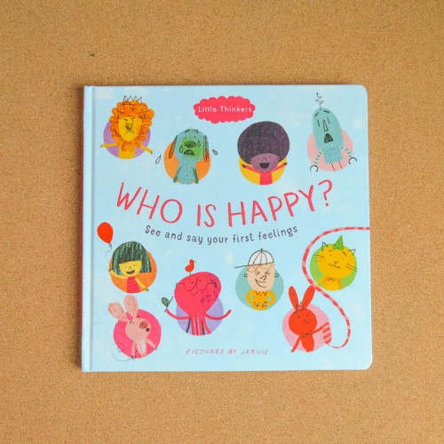 Who is Happy - children's book - theearlyhour.com