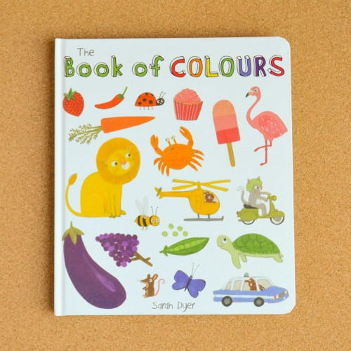 Book of Colours - children's books - theearlyhour.com