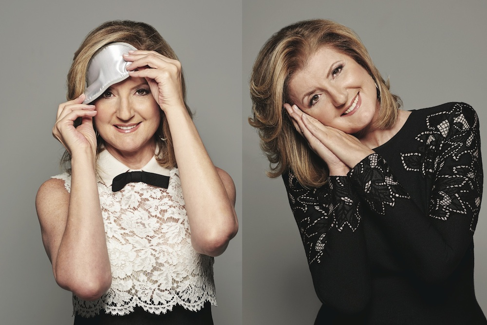 Arianna Huffington - sleep, mornings and work - morning reading - theearlyhour.com