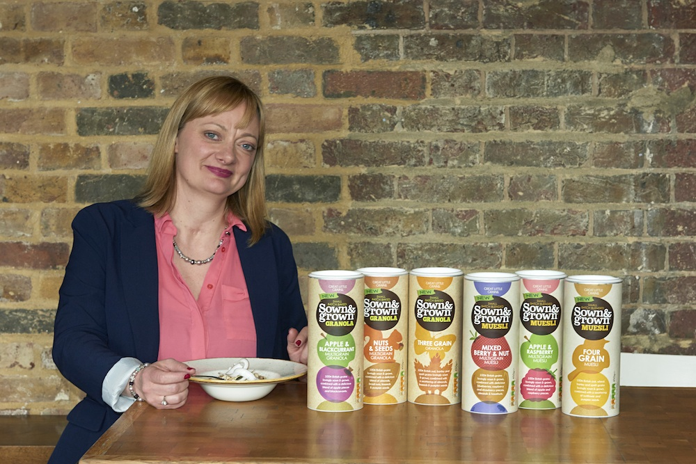 Rachel Toms - sown & grown - cereal startup - theearlyhour.com