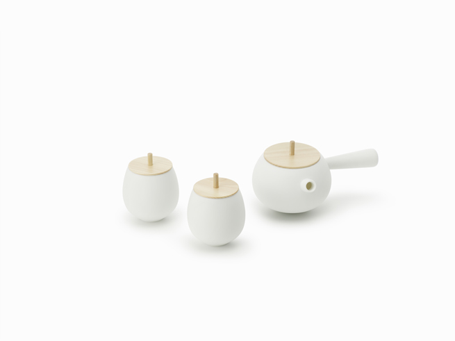 tea set - herbal tea - morning habits - theearlyhour.com