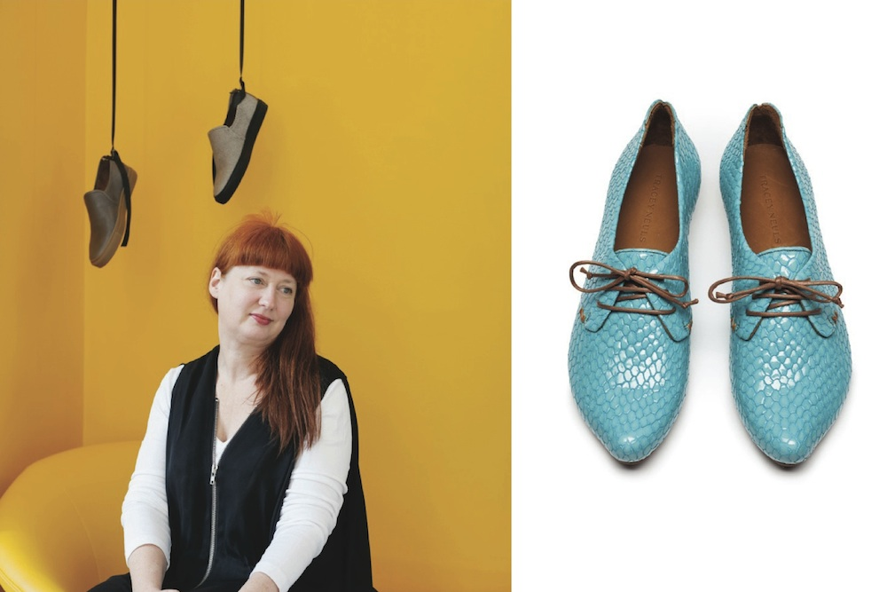 Shoe designer Tracey Neuls on work and life