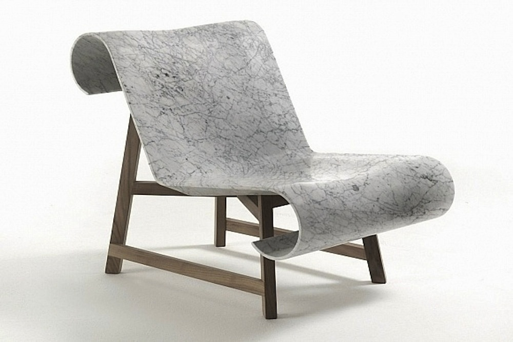 marble chair - interior trends - theearlyhour.com