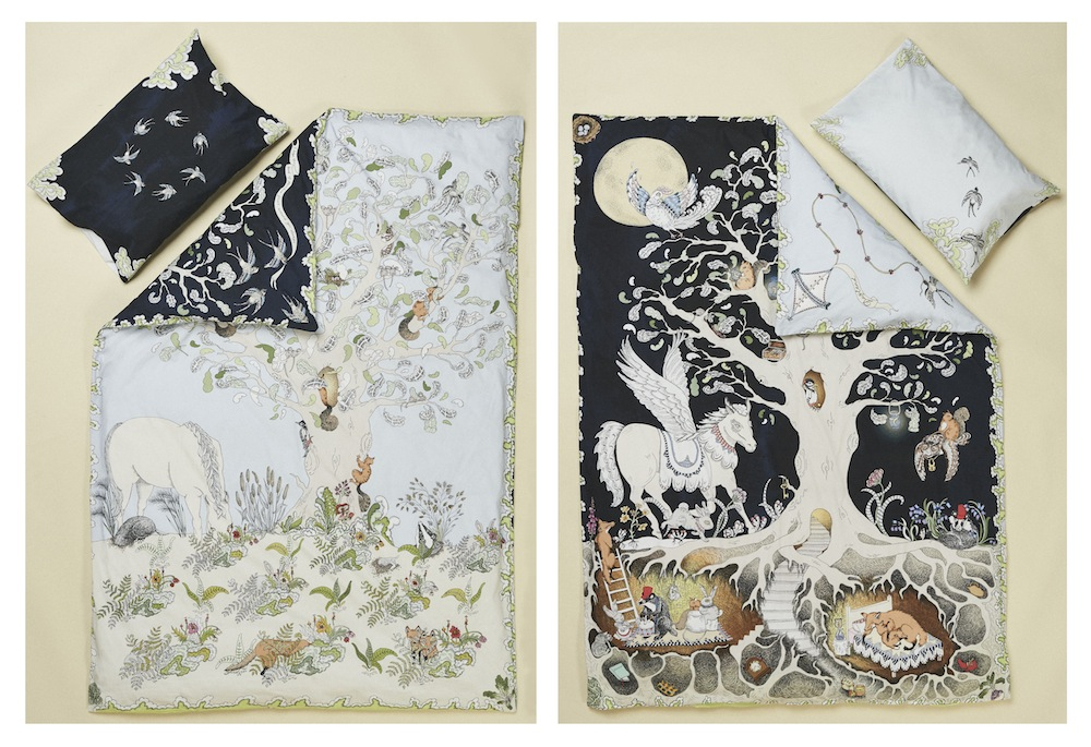 Forivor children's bedding with a fairytale narrative - theearlyhour.com
