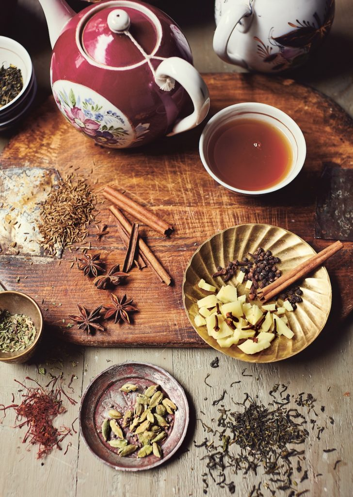 Food of Central Asia - spice tea - theearlyhour.com