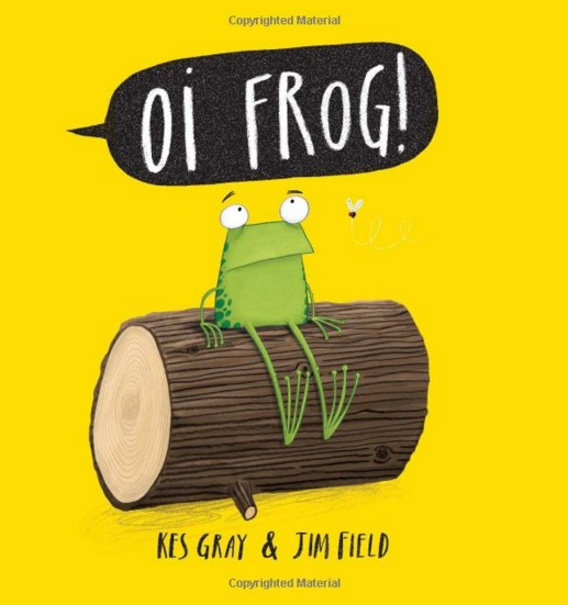 oi frog - books for toddlers - theearlyhour.com