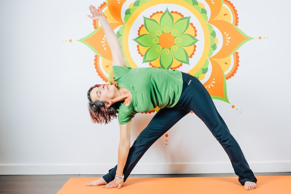 Esther - single mum and recovering alcoholic, who used yoga to aid her recovery - theearlyhour.com