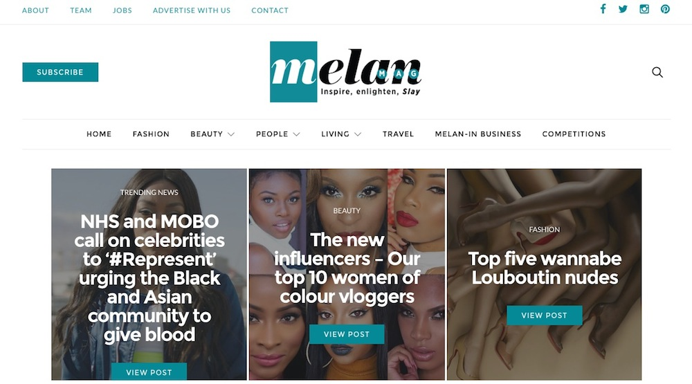 melanmag - for women of colour - theearlyhour.com