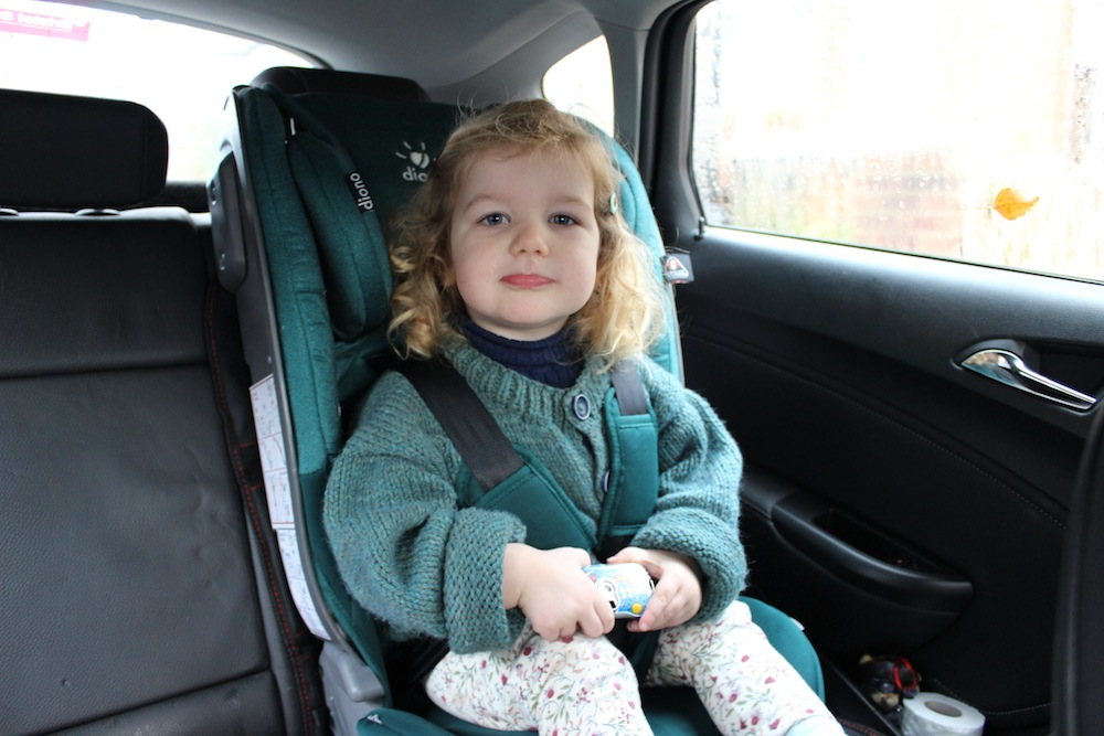 Review Diono Radian 5 Car Seat Aged 0 7 Years
