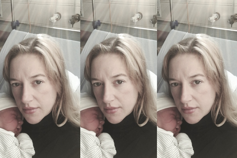 poetry on new motherhood for a second time mum