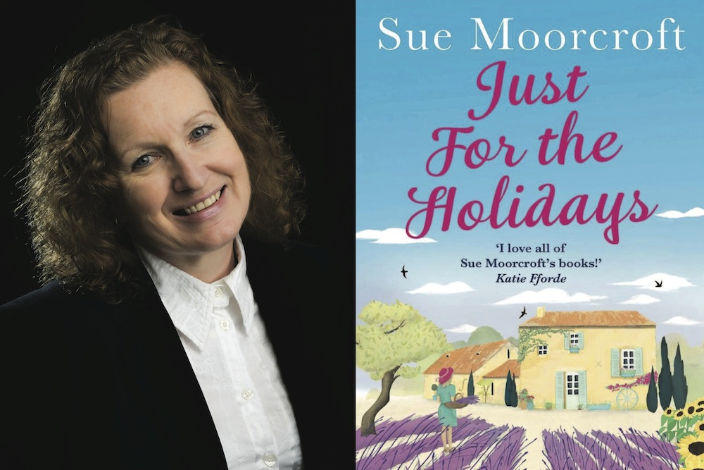 Author Sue Moorcroft