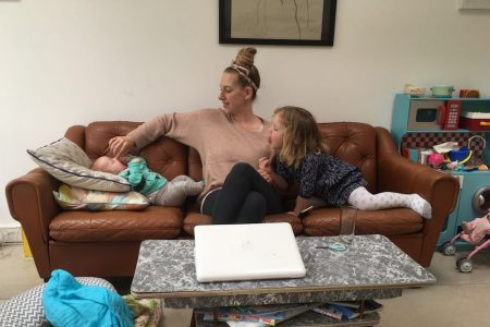 freelance mum - editor of The Early Hour, Annie Ridout