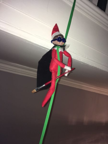 This Creative Mum Is Taking Elf On The Shelf To New